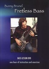 NEW Fretless Bass with Bunny Brunel (DVD)