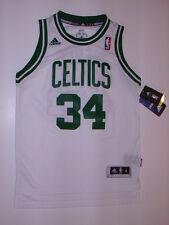 New Adidas Paul Pierce White Boston Celtics Youth Nba Team Swingman Jersey Med