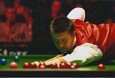 Ryan DAY AUTOGRAPH 12x8 Signed Photo AFTAL COA SNOOKER Shanghai Master Finalist