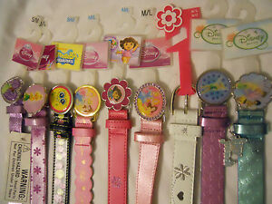 Girl Belts S/M M/L Kids