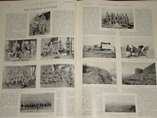 1899 CHITRAL ~ GARRISON 38TH DOGRAS CHAKDARA MALABAND FORCE 10TH BENGALS ETC
