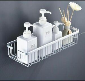 Rust Free Shower Caddy - aluminium alloy - Bath Basket Storage Shelf Bathroom