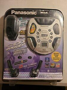 Panasonic Discman CD Player SL-SW860 Shock Wave Metal S-XBS Vintage New Sealed
