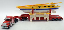 Siku 1/55 Scale - 4014 Peterbilt Transporter with Yacht Model Truck