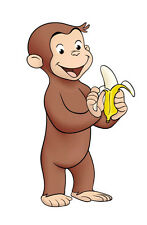 Curious George # 14 - 8 x 10 - T Shirt Iron On Transfer