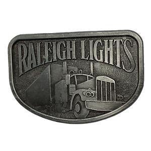 Vintage Raleigh Lights Semi Truck Belt Buckle