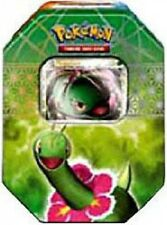 Pokemon HeartGold & Soulsilver Spring 2010 Meganium Collector Tin Set
