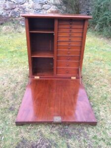 A Victorian Dentistry Cabinet / Medical Cabinet / Multi Drawer Unit / Apocothery