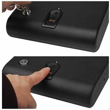 120 Fingerprint Electronic Biometric Digital Security Mini Gun Safe Box Lock