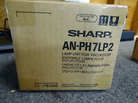 SHARP AN-PH7LP2 ANPH7LP2 LAMP IN HOUSING FOR PROJECTOR MODEL XG-PH70X RIGHT LAMP