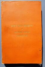 1885 Sun's True Bearing or Azimuth Tables by John Burwood- SV Lady Cairns Wreck