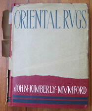 Mumford,  Oriental Rugs, 1900, 1st edition. Hardcover.  Used, good condition, dj
