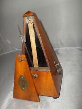 *ANTIQUE WOODEN METRONOME- SYSTEM MAELZEL- DEPOSE BREVETE PARIS- 'Working'*