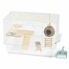 Bucatstate Hamster Cages Basics Small Animal Home Habitat with Water Bottle,Food