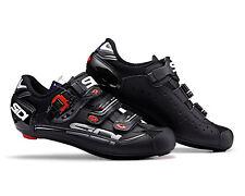 SIDI Genius 7 Mega Carbon Road Cycling Shoes - Black/Black