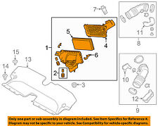 Infiniti NISSAN OEM Q50 Air Cleaner Intake-Filter Box Housing Left 165004GA0B