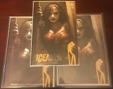 DCeased 5 - Ryan Brown - Covers A,B,C Set - Cover C has COA Ltd to 750