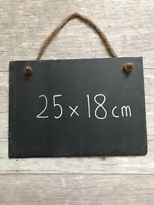Slate Chalkboard Memo Board Note Board Black Board Blank Hanging Slate Signs