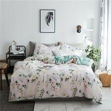 Dalin Queen Duvet Cover + 2 Pillowcases In Botanical Floral