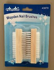 2 WOODEN-NAIL-BRUSH-FOR-MANICURE-PEDICURE-SCRUBBING-CLEANING