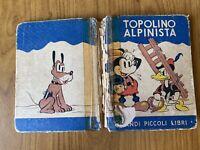 ANTICO LIBRO GRANDI PICCOLI LIBRI TOPOLINO ALPINISTA SALANI 1938 88