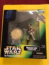 COLLECTION 1998 PRINCESS LEIA FREE SHIPPING WITH COIN