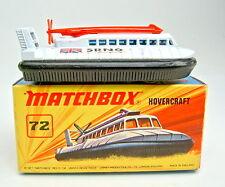 "MATCHBOX SF N. 72b hovercraft 1. piastra di base ""no. 72 srn6 hovercraft"" TOP IN BOX"
