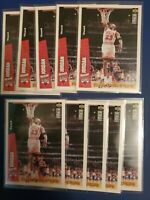 10X 1996-97 Upper Deck Collector's Choice Slam Dunk Series Michael Jordan #4 HOF