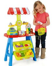 New Kid Pretend Toy Cash Register & Scale Market Stall Fruit Stand  (#008-52)