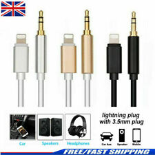 Lightning to 3.5mm Jack Male to Male Audio AUX Lead Cable for iPhone 7 8 X XS 11