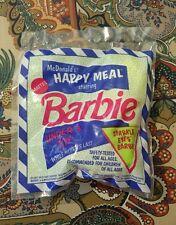 1991 McDONALD'S KIDS HAPPY MEAL UNDER 3 TOY BARBIE SPARKLE EYES BARBIE NEW