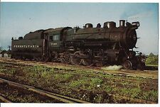 Pennsylvania Consolidation 7299 TRAIN ENGINE Sandusky Ohio in 1950 Postcard OH