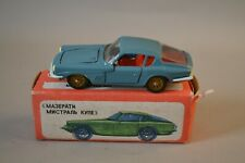 Maserati Mistral 3700 Coupe 1:43 remake Mebetoys metall USSR UdSSR