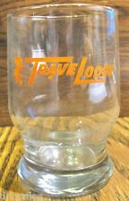 Vintage 1970s Travelodge Glass with Sleepy Bear Logo 4 inch Mint Very Rare