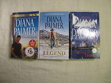3 Diana Palmer novels: Enamored; Wyoming Legend; A Matter of Trust