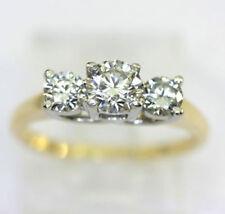 Anillos de joyería con diamantes anillo de compromiso diamante I1
