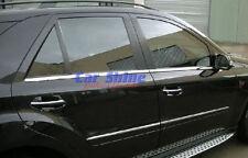 Mercedes-Benz M-Klasse ML W164 05-11 - Fensterleisten CHROM Zerleisten 3M Tuning