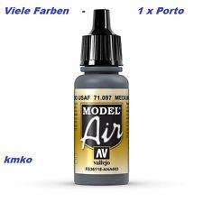 Vallejo Model Air MA 097 71097 Med.Gunshipgrey FS36118 ANA603 17ml 15,29€/100ml