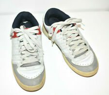 OSIRIS Duster Skate Shoes Men's 11 White Gray Red Trim