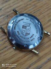 Oris watch gold plated 10k watch case