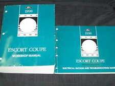 1998 Ford Escort Coupe Shop Manual 2pcs