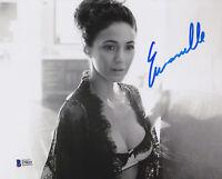 Emmanuelle Chriqui Autographed 11x14 Photo Signed - Beckett BAS Sticker Only