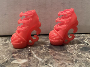 Monster High Doll Clothes Freaky Fusion Lagoonafire Lagoona Jinafire Shoes Heels