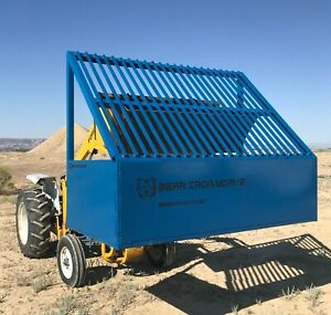Bear Iron Works Rock Screen Grizzly  gravel dirt sifter