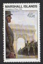 Marshall Islas, Scott# 254 , Occupation Of Paris, Guerra Mundial II, MNH