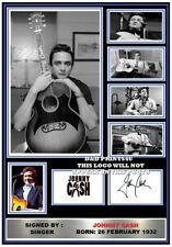 More details for (307) johnny cash signed a4 photograph (reprint) great gift @@@@@@@@@@@@@@@@@@@