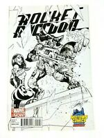 Rocket Raccoon #1 Marvel 2014 J Scott Campbell Sketch Variant Midtown NM