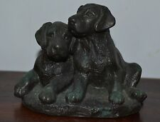 Menton Manor Figurine of Two Puppies
