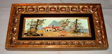 Framed Morris Katz American Artist 1930-2010 Signed Oil on Board Painting # 2