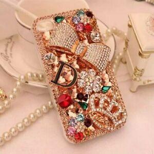 Girly Bling Phone Case,Glitter Diamond Women Rhinestones Crystal Cover for Women